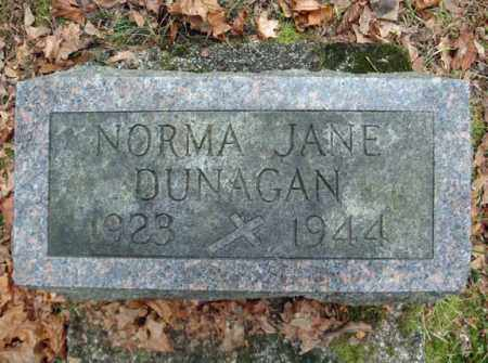 DUNAGAN, NORMA JANE - Montgomery County, New York   NORMA JANE DUNAGAN - New York Gravestone Photos