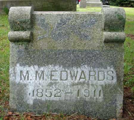 EDWARDS, M M - Montgomery County, New York   M M EDWARDS - New York Gravestone Photos