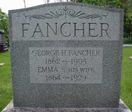 FANCHER, EMMA S - Montgomery County, New York | EMMA S FANCHER - New York Gravestone Photos