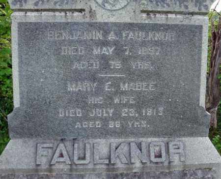 FAULKNOR, MARY E - Montgomery County, New York | MARY E FAULKNOR - New York Gravestone Photos