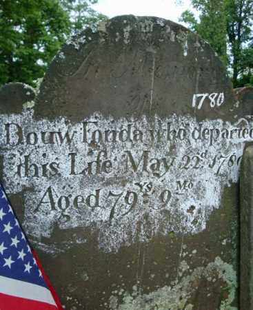 FONDA (FI), DOUW - Montgomery County, New York | DOUW FONDA (FI) - New York Gravestone Photos