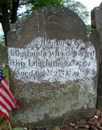 FONDA (RW), JELLES - Montgomery County, New York   JELLES FONDA (RW) - New York Gravestone Photos