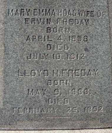 FREDAY, MARY EMMA - Montgomery County, New York | MARY EMMA FREDAY - New York Gravestone Photos