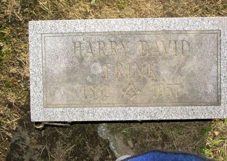 FRINK, HARRY DAVID - Montgomery County, New York   HARRY DAVID FRINK - New York Gravestone Photos