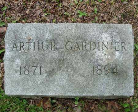 GARDINIER, ARTHUR - Montgomery County, New York | ARTHUR GARDINIER - New York Gravestone Photos