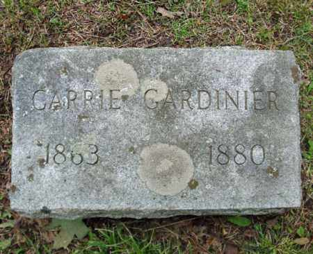 GARDINIER, CARRIE - Montgomery County, New York | CARRIE GARDINIER - New York Gravestone Photos