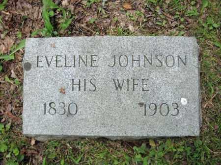 JOHNSON, EVELINE - Montgomery County, New York | EVELINE JOHNSON - New York Gravestone Photos