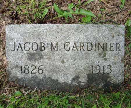 GARDINIER, JACOB M - Montgomery County, New York | JACOB M GARDINIER - New York Gravestone Photos