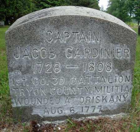 GARDINIER (RW), JACOB - Montgomery County, New York | JACOB GARDINIER (RW) - New York Gravestone Photos