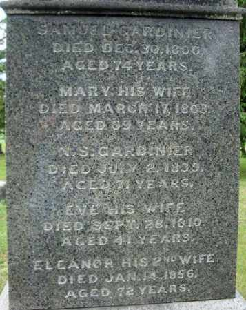 GARDINIER, ELEANOR - Montgomery County, New York | ELEANOR GARDINIER - New York Gravestone Photos