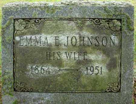 JOHNSON, EMMA E - Montgomery County, New York | EMMA E JOHNSON - New York Gravestone Photos