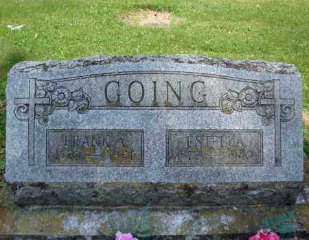 GOING, FRANK A - Montgomery County, New York | FRANK A GOING - New York Gravestone Photos