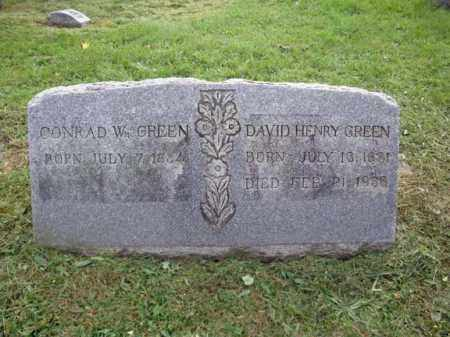 GREEN, DAVID HENRY - Montgomery County, New York | DAVID HENRY GREEN - New York Gravestone Photos