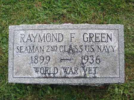GREEN, RAYMOND F - Montgomery County, New York   RAYMOND F GREEN - New York Gravestone Photos