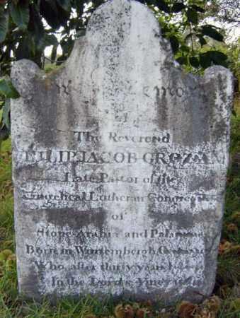 GROZ, PHILIP JACOB - Montgomery County, New York | PHILIP JACOB GROZ - New York Gravestone Photos