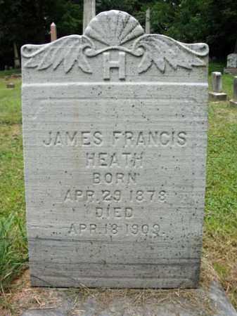 HEATH, JAMES FRANCIS - Montgomery County, New York | JAMES FRANCIS HEATH - New York Gravestone Photos
