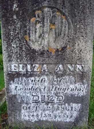 HUGENIN, ELIZA ANN - Montgomery County, New York | ELIZA ANN HUGENIN - New York Gravestone Photos