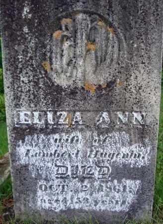 HUGENIN, ELIZA ANN - Montgomery County, New York | ELIZA ANN HUGENIN - New York Gravestone Photos