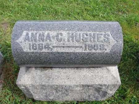 HUGHES, ANNA C - Montgomery County, New York   ANNA C HUGHES - New York Gravestone Photos