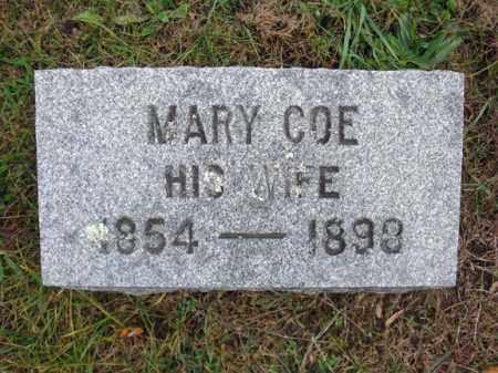 COE HUGHES, MARY - Montgomery County, New York | MARY COE HUGHES - New York Gravestone Photos