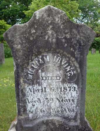 IRVING, WILLIAM - Montgomery County, New York   WILLIAM IRVING - New York Gravestone Photos