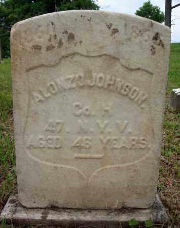 JOHNSON (CW), ALONZO - Montgomery County, New York | ALONZO JOHNSON (CW) - New York Gravestone Photos