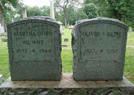 KLINE, MARTHA - Montgomery County, New York   MARTHA KLINE - New York Gravestone Photos