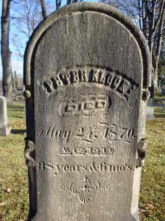 KLOCK, PETER - Montgomery County, New York | PETER KLOCK - New York Gravestone Photos