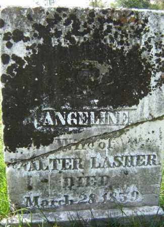 LASHER, ANGELINE - Montgomery County, New York | ANGELINE LASHER - New York Gravestone Photos