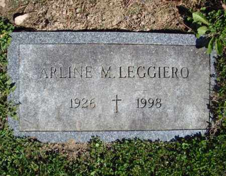 SHEWARD LEGGIERO, ARLINE M - Montgomery County, New York | ARLINE M SHEWARD LEGGIERO - New York Gravestone Photos