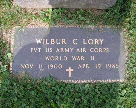 LORY (WWII), WILBUR C - Montgomery County, New York | WILBUR C LORY (WWII) - New York Gravestone Photos