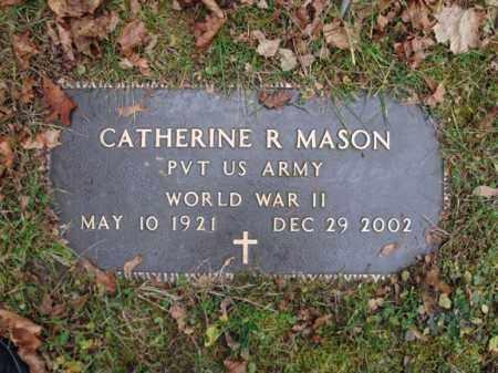 MASON (WWII), CATHERINE R - Montgomery County, New York | CATHERINE R MASON (WWII) - New York Gravestone Photos