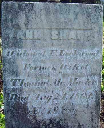 SHARP, ANNA - Montgomery County, New York   ANNA SHARP - New York Gravestone Photos