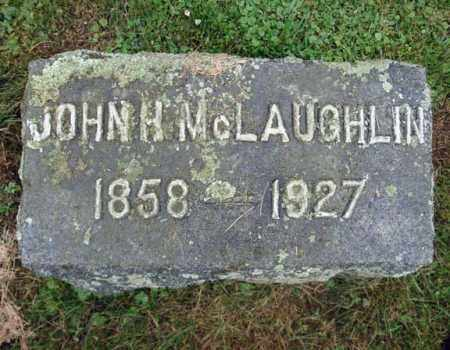 MCLAUGHLIN, JOHN H - Montgomery County, New York | JOHN H MCLAUGHLIN - New York Gravestone Photos
