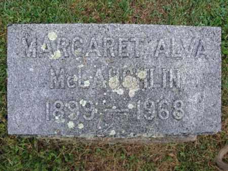 MCLAUGHLIN, MARGARET ALVA - Montgomery County, New York | MARGARET ALVA MCLAUGHLIN - New York Gravestone Photos