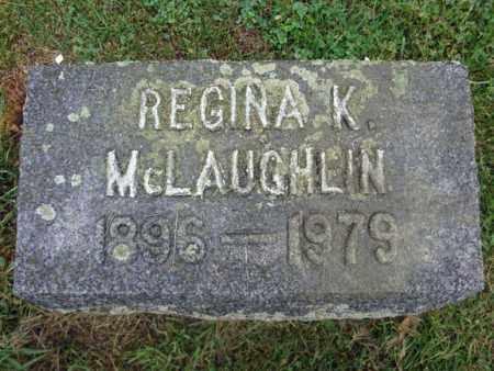 MCLAUGHLIN, REGINA K - Montgomery County, New York   REGINA K MCLAUGHLIN - New York Gravestone Photos