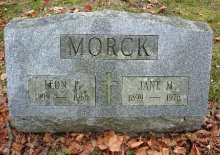 MORCK, JANE M - Montgomery County, New York | JANE M MORCK - New York Gravestone Photos
