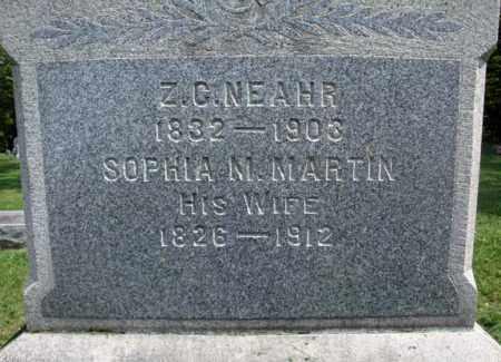 NEAHR, SOPHIA M - Montgomery County, New York | SOPHIA M NEAHR - New York Gravestone Photos