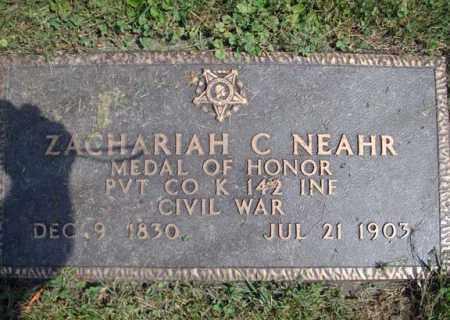 NEAHR (CW), ZACHARIAH C - Montgomery County, New York | ZACHARIAH C NEAHR (CW) - New York Gravestone Photos