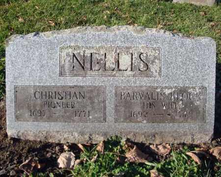 NELLIS, CHRISTIAN - Montgomery County, New York | CHRISTIAN NELLIS - New York Gravestone Photos