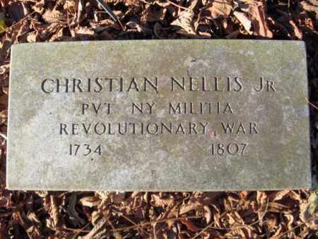 NELLIS (RW), CHRISTIAN JR - Montgomery County, New York | CHRISTIAN JR NELLIS (RW) - New York Gravestone Photos