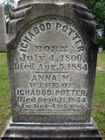 POTTER, ICHABOD - Montgomery County, New York | ICHABOD POTTER - New York Gravestone Photos