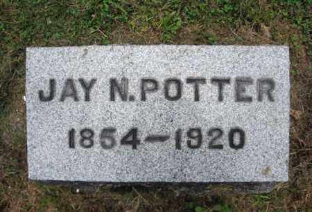 POTTER, JAY N - Montgomery County, New York | JAY N POTTER - New York Gravestone Photos