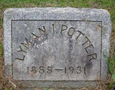 POTTER, LYMAN I - Montgomery County, New York | LYMAN I POTTER - New York Gravestone Photos
