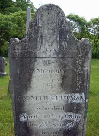 PUTMAN, CORNELIUS - Montgomery County, New York | CORNELIUS PUTMAN - New York Gravestone Photos