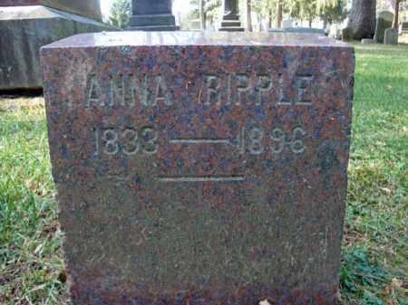 RIPPLE, ANNA - Montgomery County, New York   ANNA RIPPLE - New York Gravestone Photos