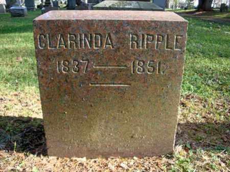 RIPPLE, CLARINDA - Montgomery County, New York   CLARINDA RIPPLE - New York Gravestone Photos