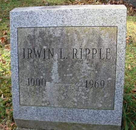 RIPPLE, IRWIN L - Montgomery County, New York   IRWIN L RIPPLE - New York Gravestone Photos