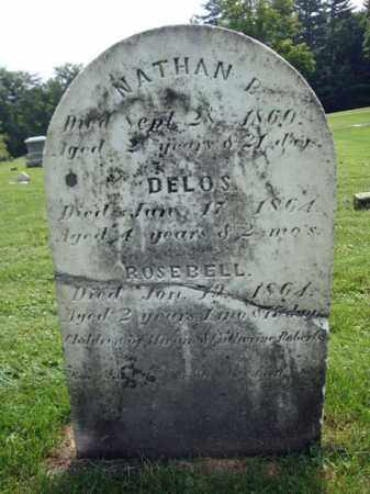 ROBERTS, DELOS - Montgomery County, New York | DELOS ROBERTS - New York Gravestone Photos