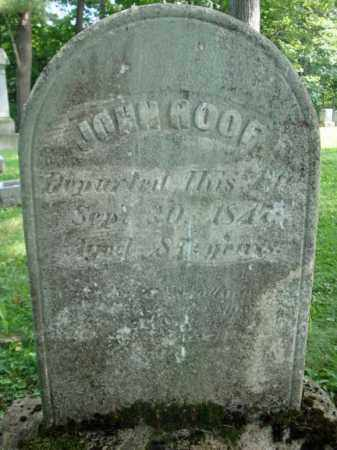 ROOF, JOHN - Montgomery County, New York | JOHN ROOF - New York Gravestone Photos